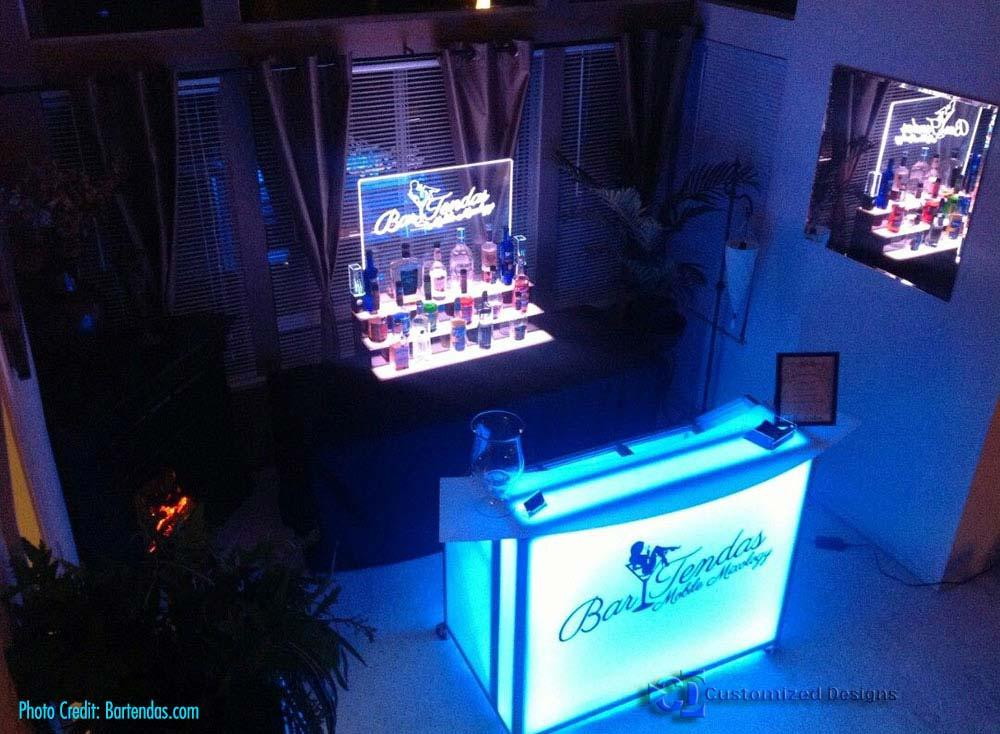 Customized Designs LED Portable Bars