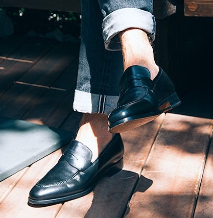 Jack Erwin Black Abe Loafer