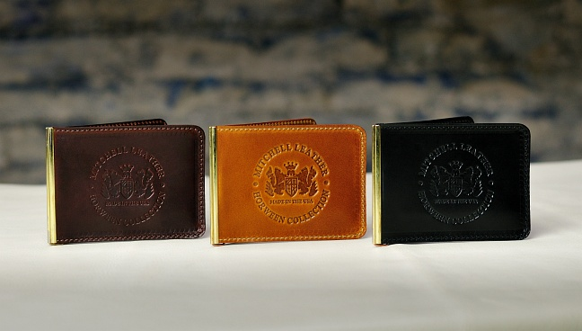 Mitchell Horween CXL Money Clip Wallet