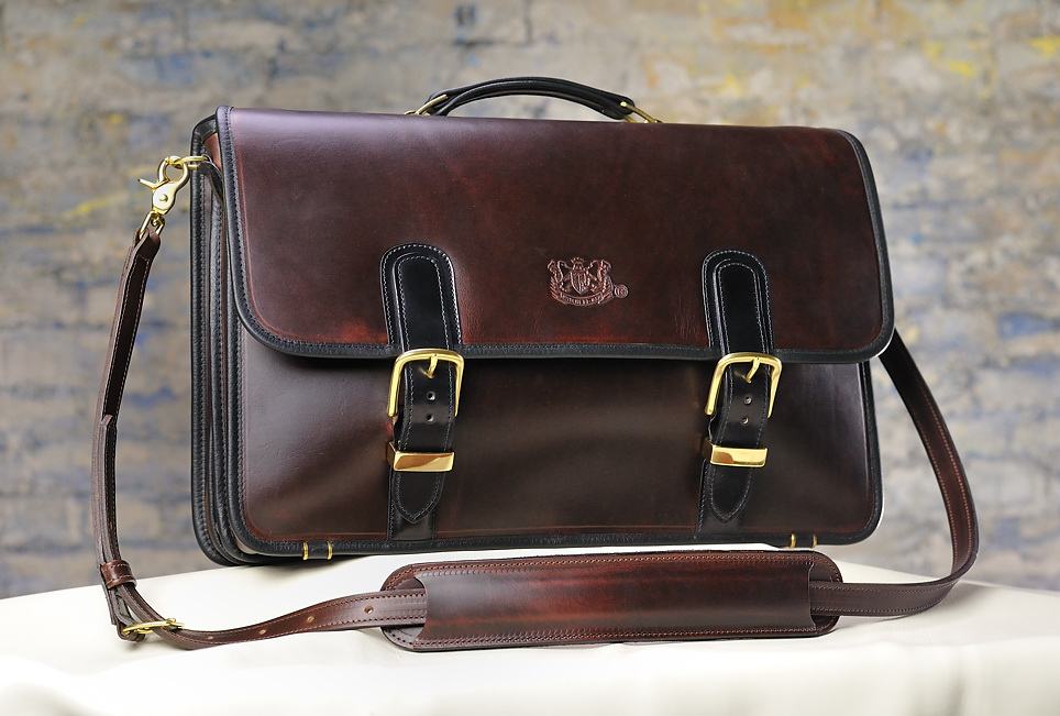 Mitchell Leather Horween Cordovan Briefcase