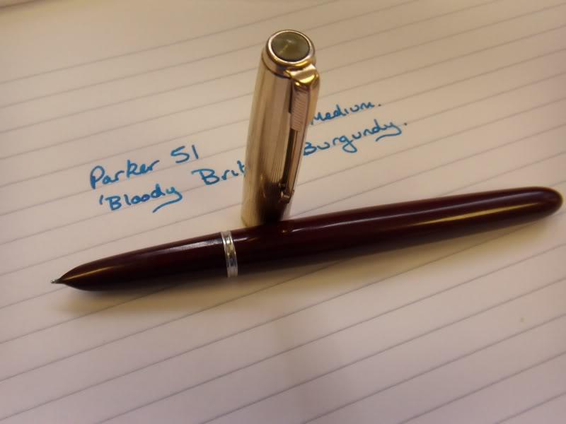 fountain pen writing paper