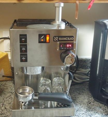 Rancilio HSD-SILVIA Espresso Machine