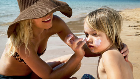 Skin Care Sunscreen Wrinkles