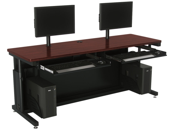 VersaTables Deluxe Height Adjustable Computer Table Desk
